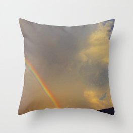 .over the rainbow. Throw Pillow