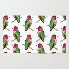 Anna's Hummingbird Rug