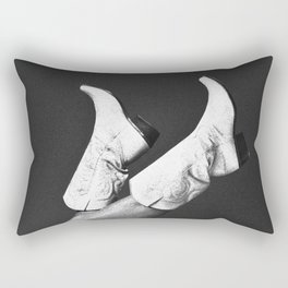 These Boots - Noir Rectangular Pillow