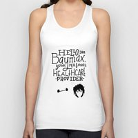 big hero 6 Tank Tops featuring Big Hero 6 by Caleb Boyles