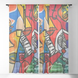 Endless Music #society6   #decor   #buyart Sheer Curtain