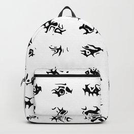 Black symbols Backpack
