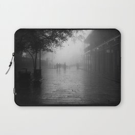New Orleans on a foggy day Laptop Sleeve