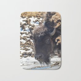 North American Bison by Teresa Thompson Bath Mat