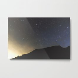 Light and Stars | Nature and Landscape Photography Metal Print