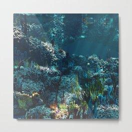 Nemo's Garden Metal Print