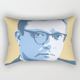 Isaac Asimov Rectangular Pillow