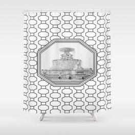 Scott Fountain_Belle Isle_Detroit, Michigan Shower Curtain