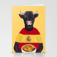spanish Stationery Cards featuring The Spanish by Dano77