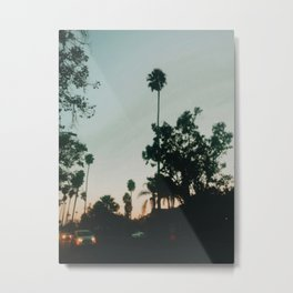 WeHo Sunset  Metal Print