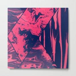 Mixed Marble Stone - Visual Decorative Graphic Design V.3 Metal Print
