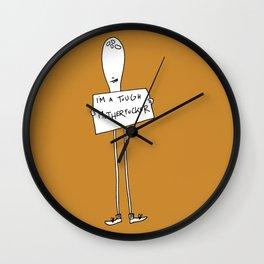 Tough Motherfucker Wall Clock
