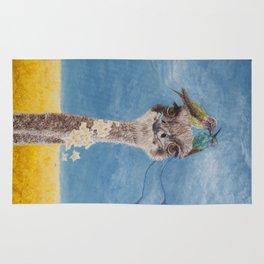 Olivia: My Dainty Ostrich Rug