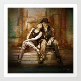 Dresden Dolls Art Print
