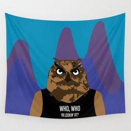 Hoot, Hoot, Who? Wall Tapestry