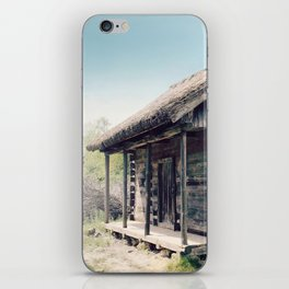 Forester's house iPhone Skin