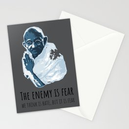 The Enemy is Fear Stationery Cards