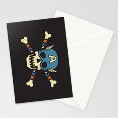 Captain 'Jolly' Rogers  Stationery Cards