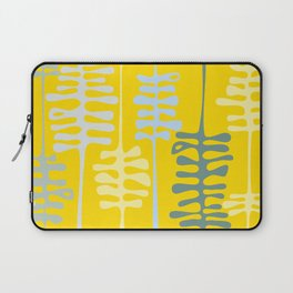 Abstract jungle - yellow Laptop Sleeve
