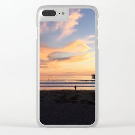 Waves in the Sky Clear iPhone Case