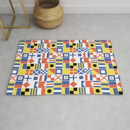 Nautical Flags Rug