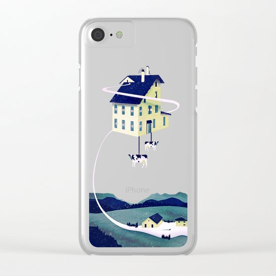 Holy Cow... Clear iPhone Case