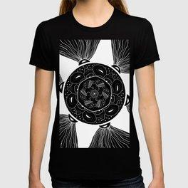 From The Ancient's Sun Mandala T-shirt