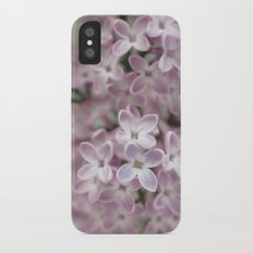 Lilac  iPhone X Slim Case