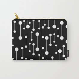Perfectly Balanced In Black And White Carry-All Pouch