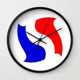 Flag of France 17- France, Français,française, French,romantic,love,gastronomy Wall Clock