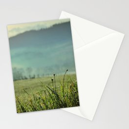 Misty morning in Tuscany Stationery Cards