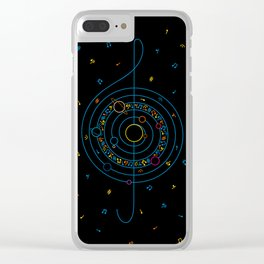 Life in Music Clear iPhone Case