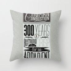 Spontaneous Combustion Throw Pillow