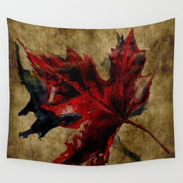 Canadian Maple Leaf Fall Edit  Wall Tapestry