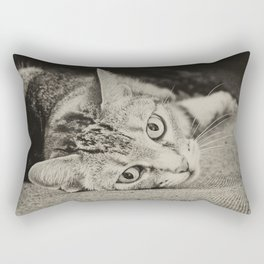 little cat Rectangular Pillow