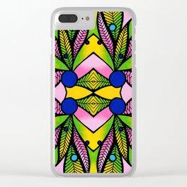 Bromelia Clear iPhone Case