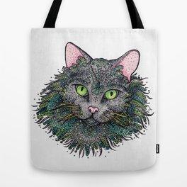 Sea Cat Tote Bag