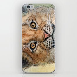 Lion Cub 894 iPhone Skin