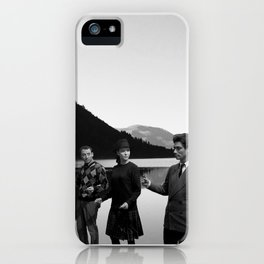 Collage Bande à part (Band of Outsiders) - Jean-Luc Godard iPhone Case