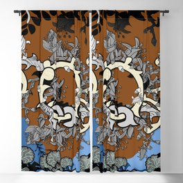 Everlasting love in enchanted forest Blackout Curtain