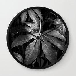 Leaves, Hida-Takayama, Japan Wall Clock