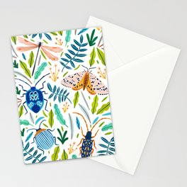 Bugs Pattern Stationery Cards