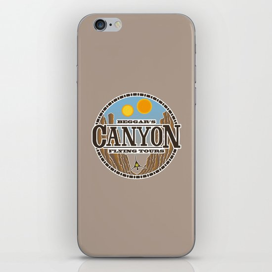 Beggar's Canyon Tours iPhone & iPod Skin