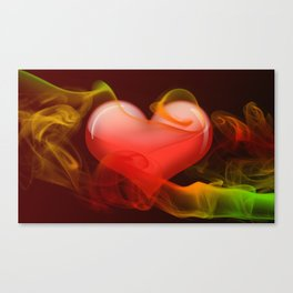 Heartbeat II Canvas Print