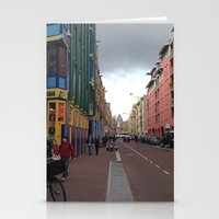 greg guillemin Stationery Cards featuring Amsterdam - Greg Katz by Artlala for MSF Doctors Without Borders