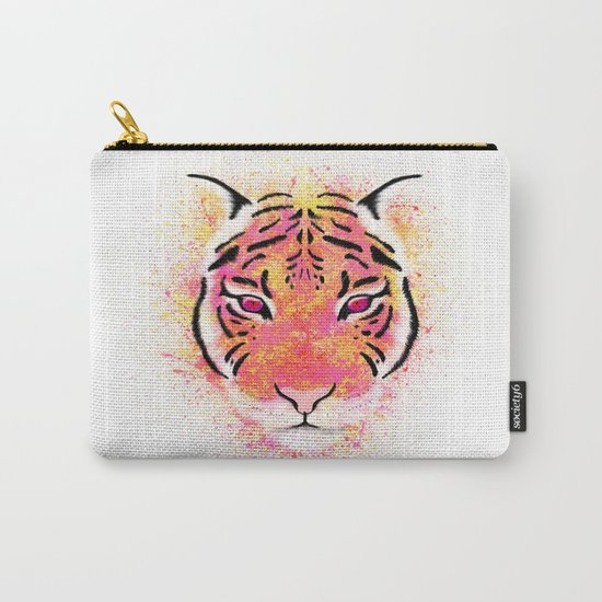 Sherbet Tiger Carry-All Pouch