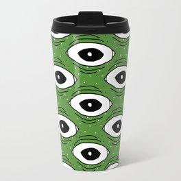 Frog eyes II Travel Mug