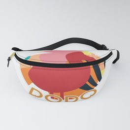 Dodo I Binocular Bird Watcher Ornithologist Costume Gift design Fanny Pack