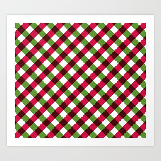Holiday Pattern Art Print