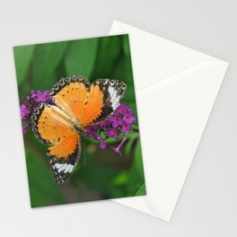 Leopard Lacewing Butterfly Stationery Cards